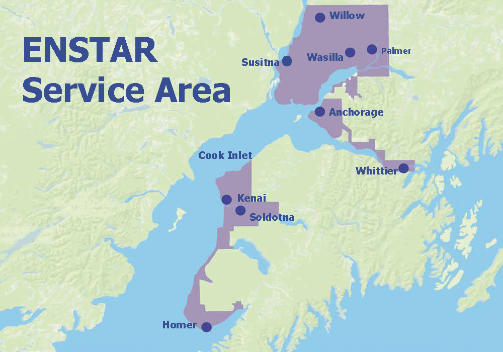 Enstar Natural Gas Anchorage Alaska